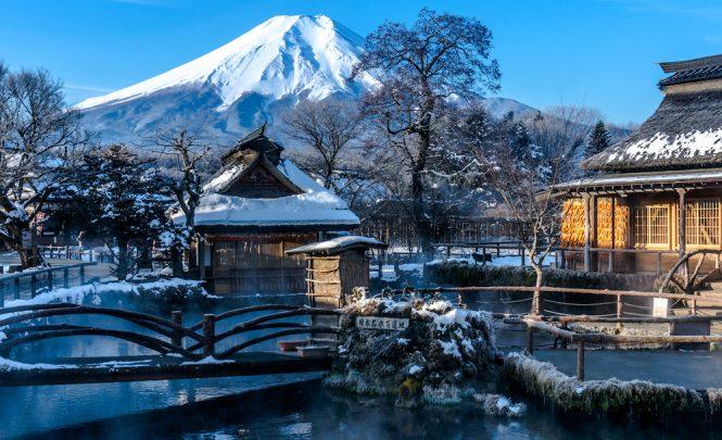 mount Fuji water